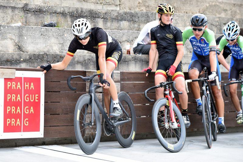 Dráhová cyklistika v Praze