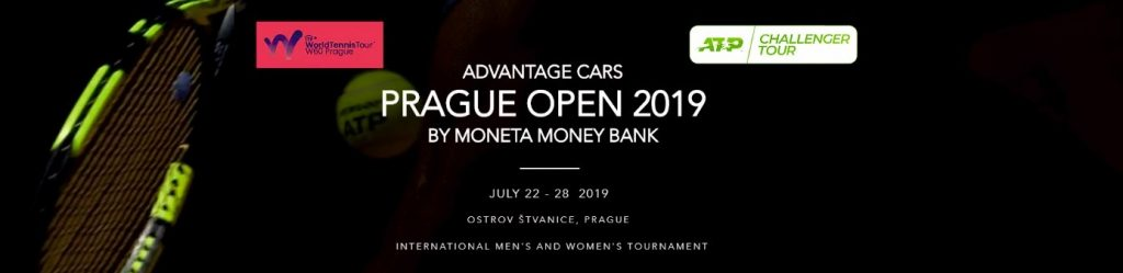Advantage Cars Prague Open se koná ve dnech 22. – 28. července 2019